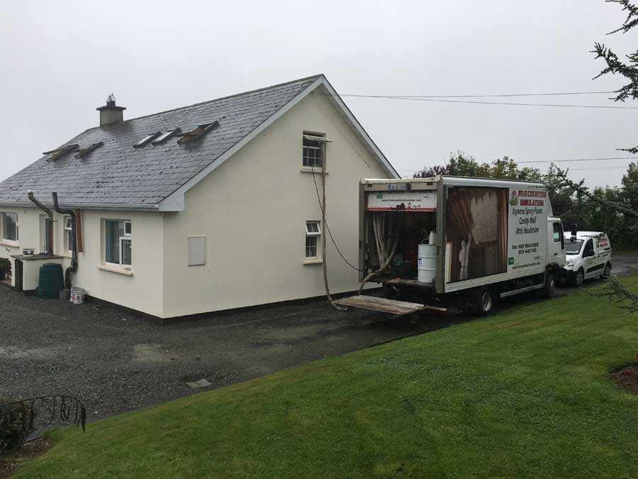 Spray Foam insolation Wexford