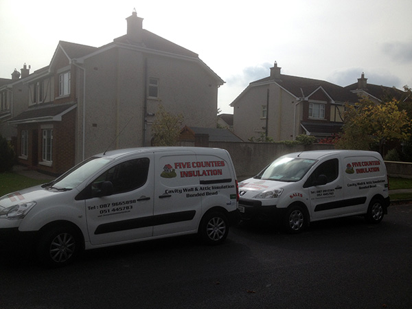 Cavity Wall Insulation in Dunmore Road, Waterford, Co. Waterford