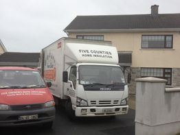 Cavity wall insulation in Castlepark in Arklow Co Wicklow
