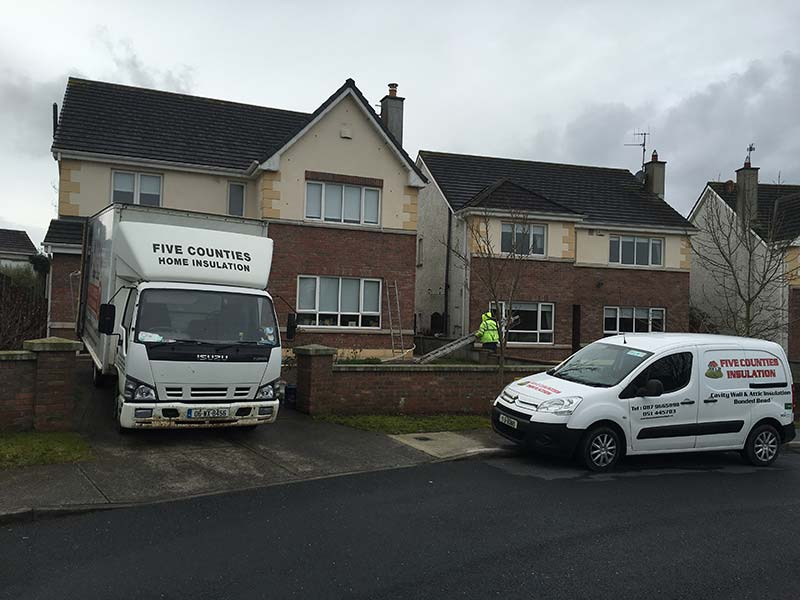 Cavity Wall Insulation in Brownshill, Carlow