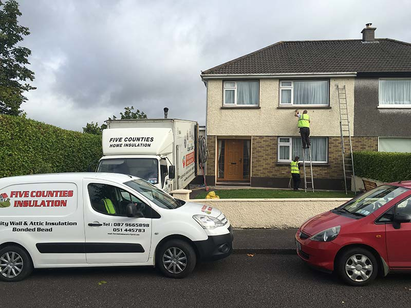 Cavity Wall and Attic Insulation Bishopstown, County Cork
