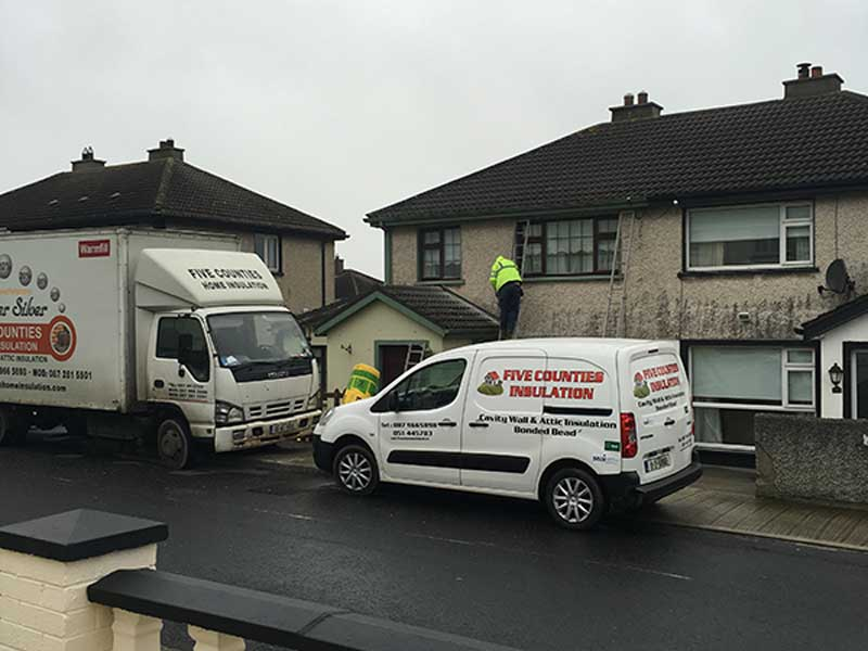 Attic Insulation and Cavity Wall Insulation in Avondale, Co. Waterford
