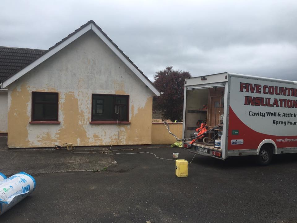 Cavity wall and attic insulation - Co.Wexford