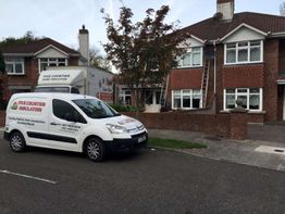 Cavity wall insulation Madeira Grove, The Moyne, Enniscorthy, County Wexford