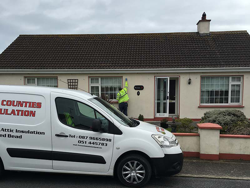 Cavity Wall Insulation in Barryville, Rosslare Harbour, Co Wexford