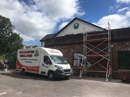 Cavity wall insulation - Glanmire Credit Union Co. Cork