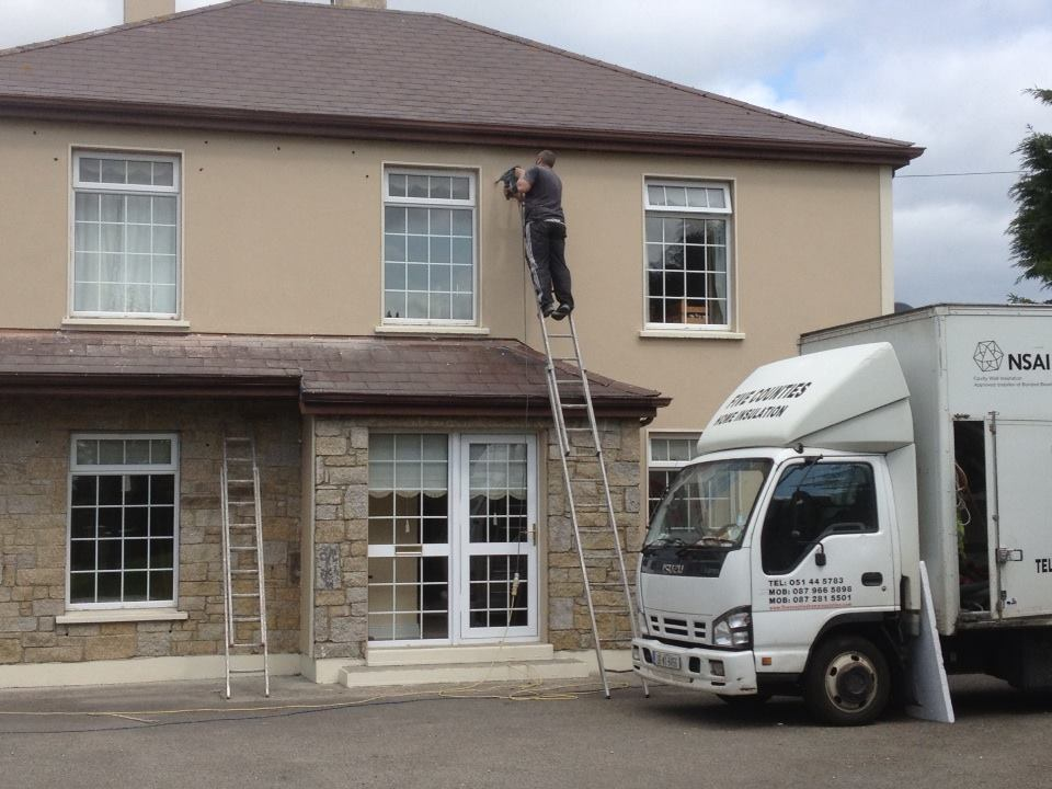 Cavity wall insulation in Cranford, Gorey, Co. Wexford