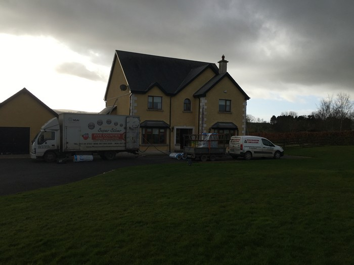 Cavity wall and attic insulation Kilkenny