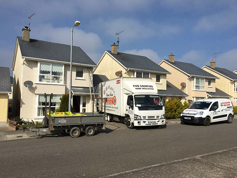 Attic Insulation and Cavity Wall Insulation in Rosslare Harbour, Co. Wexford