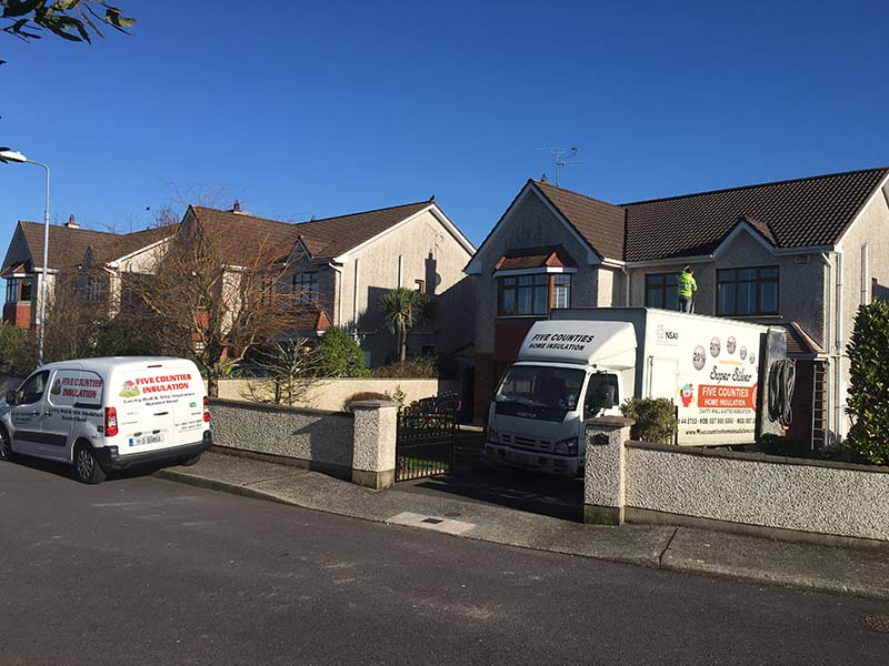 Attic Insulation and Cavity Wall Insulation in Shannon Park, Carrigaline, Co. Cork