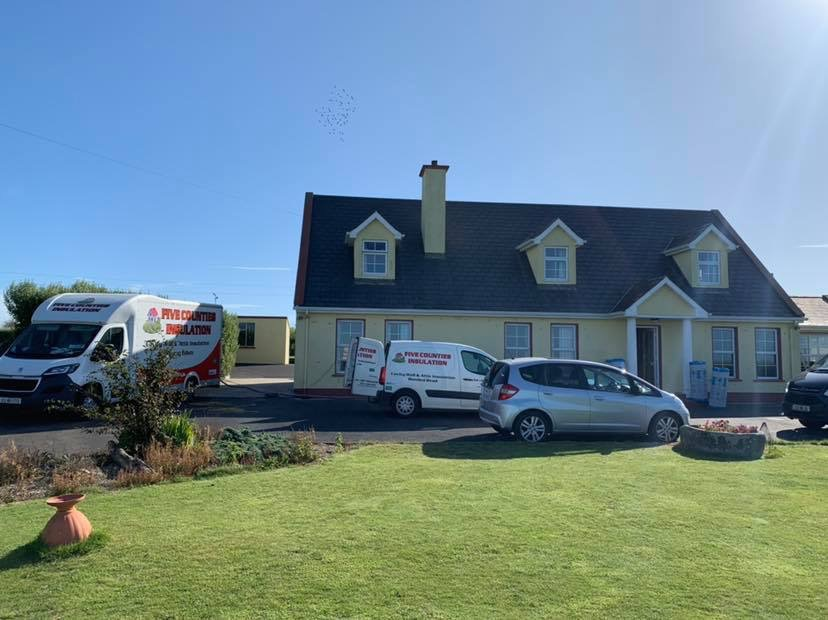 Cavity wall and attic and insulation - Hook, County Wexford