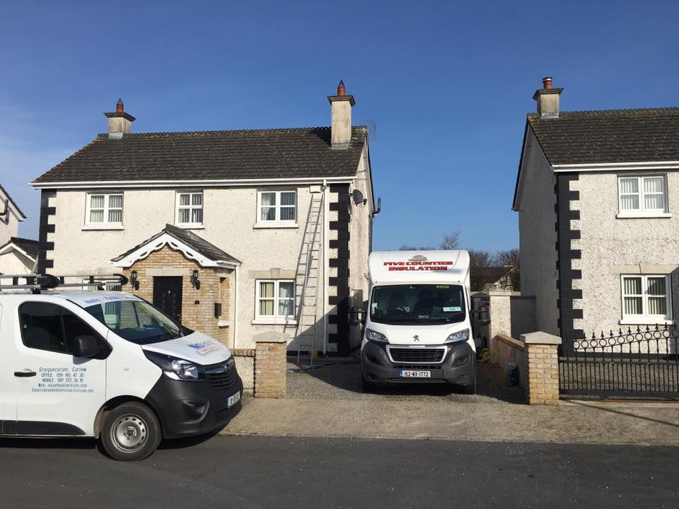 Cavity wall insulation Carlow
