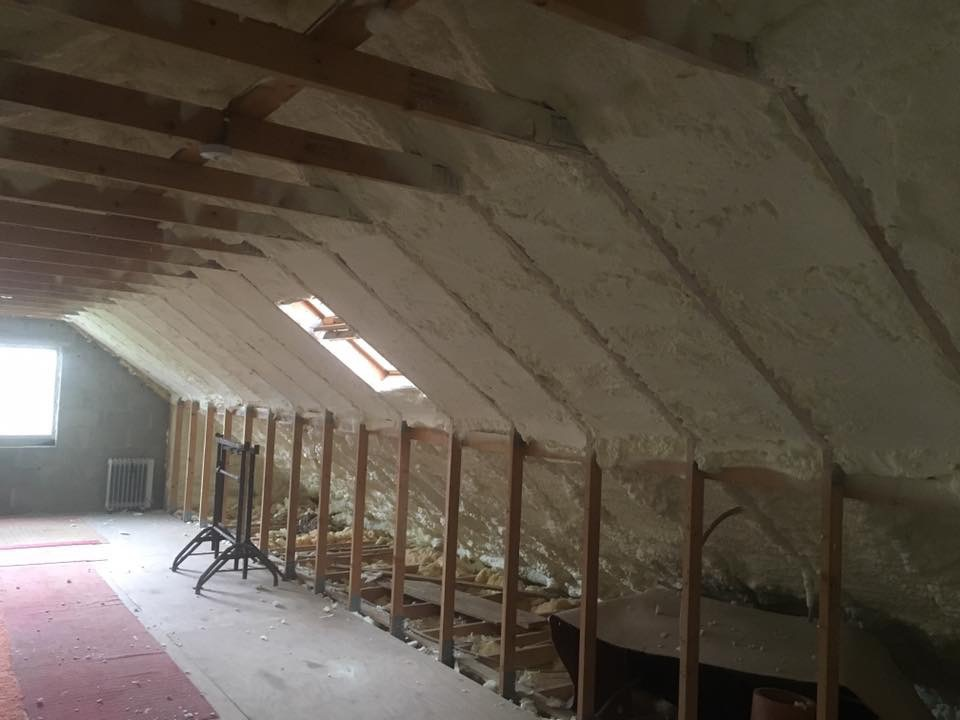 Cavity wall and spray foam insulation Ballin Carlow
