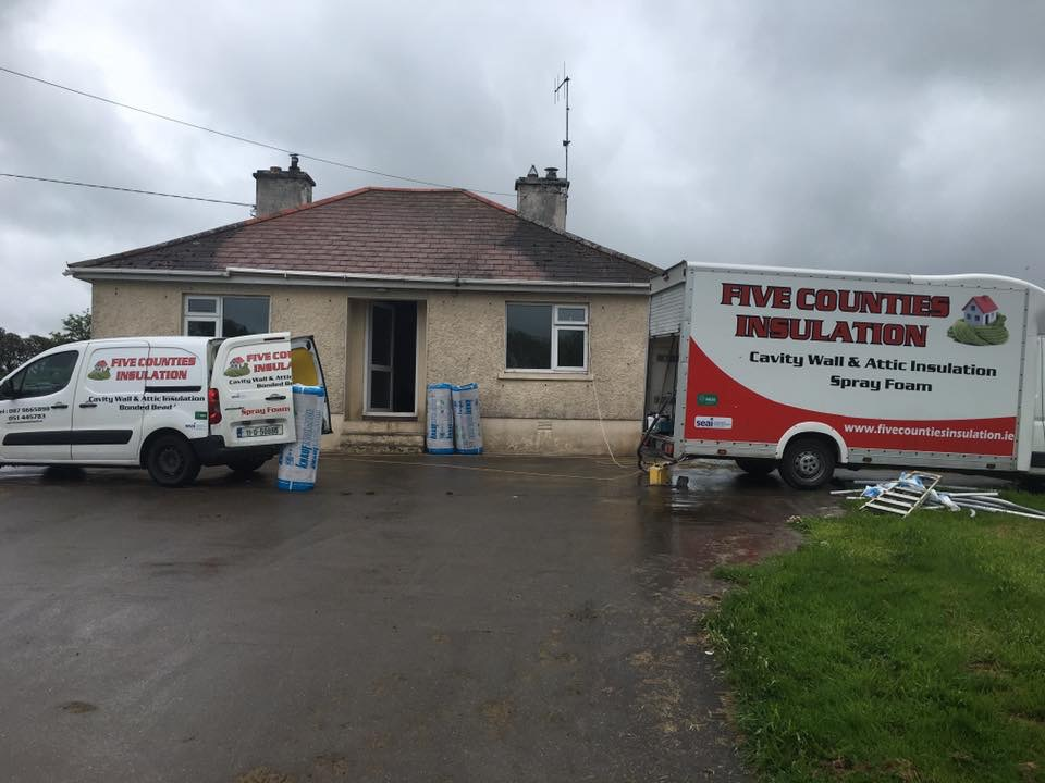 Cavity wall and attic insulation Waterford