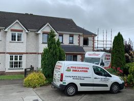 Cavity wall and attic insulation - County Laois