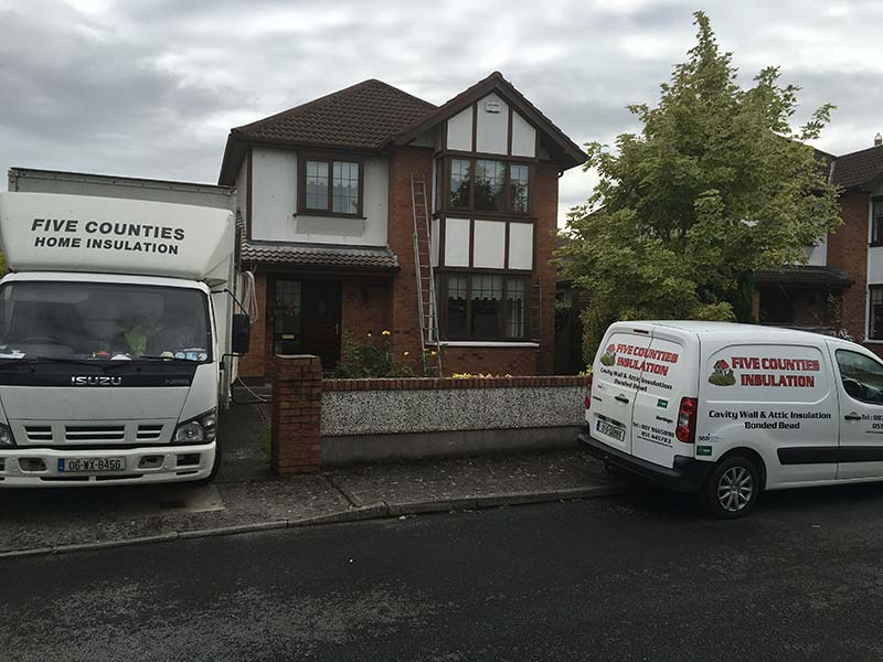 Cavity Wall Insulation College Green, Carlow, Co. Carlow