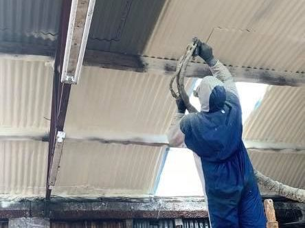 Spray foam insulation Philip McBride, Hoganstown Co. Kilkenny