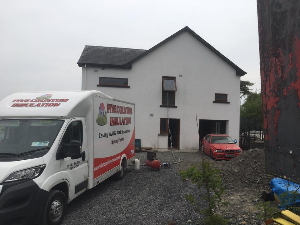 Cavity wall insulation new build Fighting cocks carlow