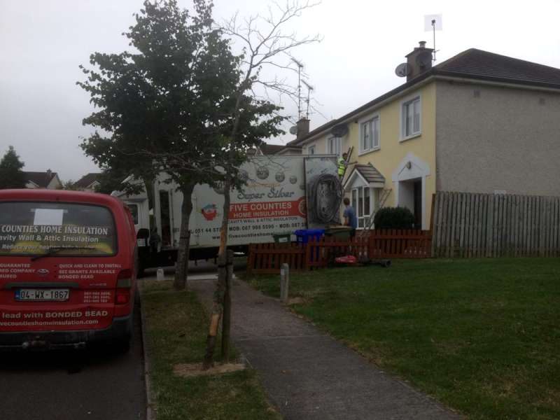 Cavity wall insulation in Ramsgate, Gorey, Co. Wexford