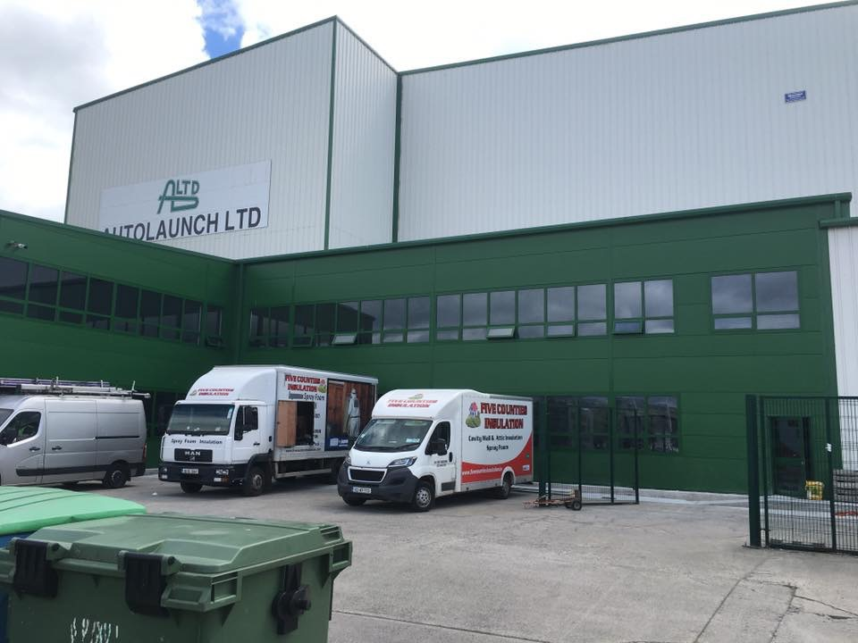 Spray Foam insulation Auto launch - Co. Carlow