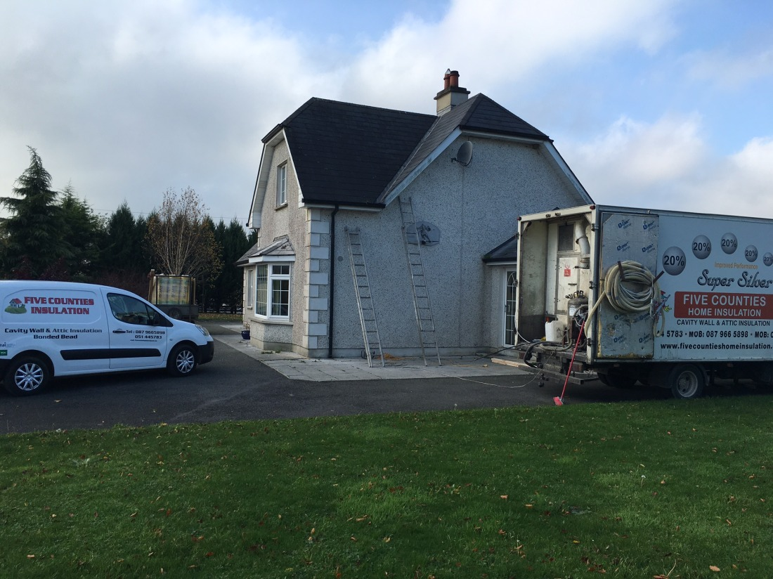Cavity Wall Insulation Rockfield, Gowran, Co Kilkenny