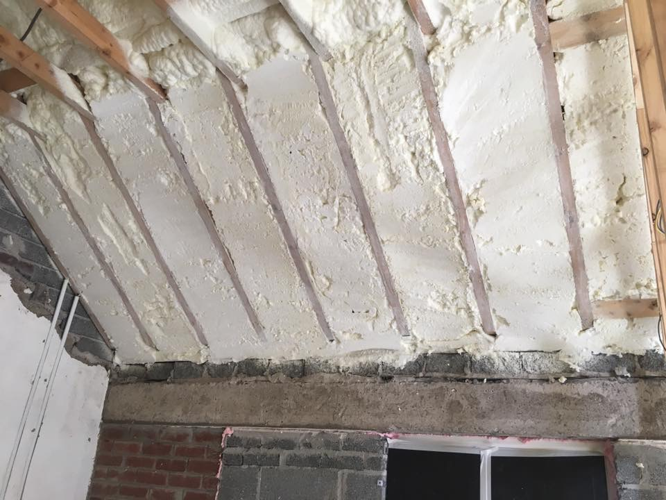 Spray Foam insulation - Tramore County Waterford