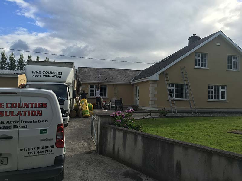 Cavity Wall Insulation Lissarda, Co Cork