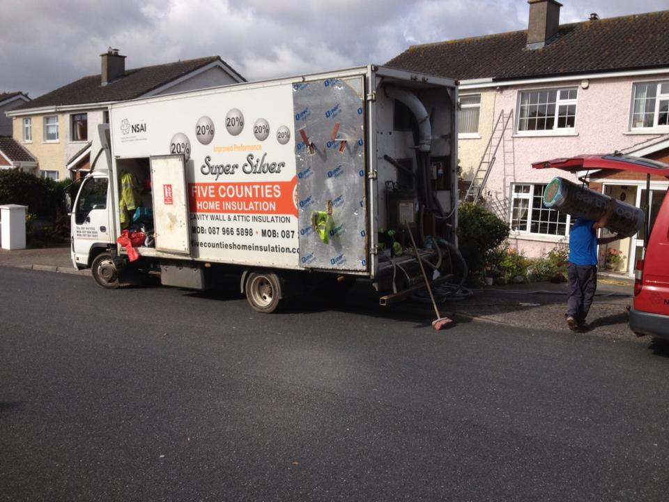 Cavity wall insulation in Waterford City, Co. Waterford