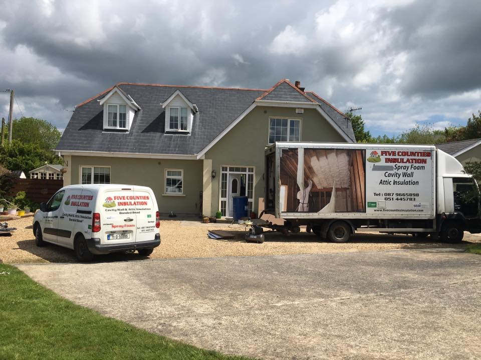 Cavity wall and attic insulation New Ross And Enniscorthy Co Wexford