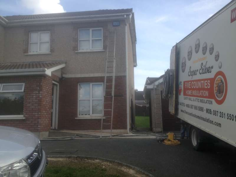 Cavity Wall Insulation in Hazelwood, Gorey, Co. Wexford
