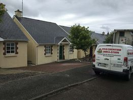 Cavity Wall and Attic insulation Kings bay park, Arthurstown, Co Wexford